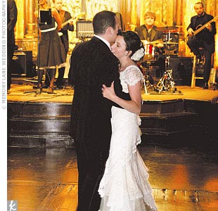 """Brant and I were nervous about having to dance in front of all those people, so we began dance lessons,"" says Melissa."
