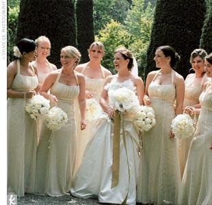 The Bridesmaid Looks
