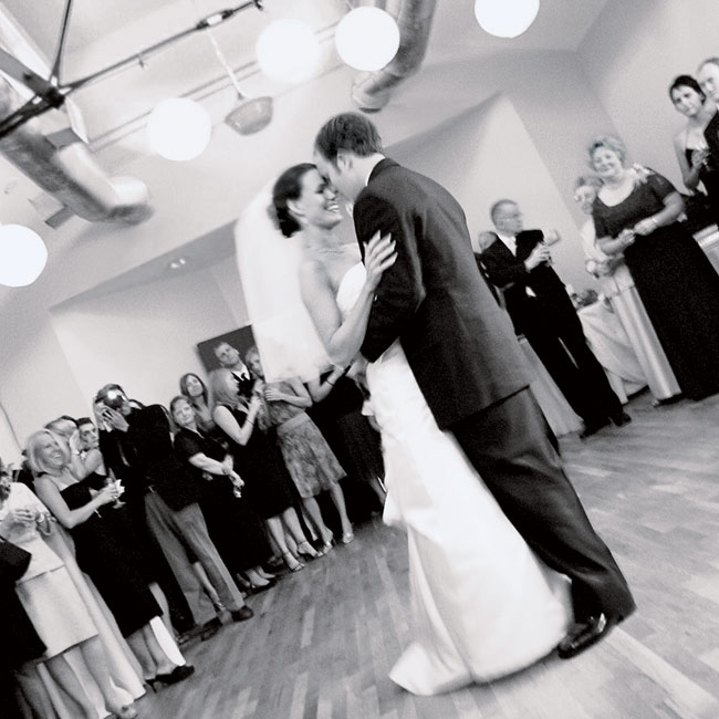 "The DJ played ""Walk With You"" by Dispatch for the couple's first dance (Diane and Scott went to a Dispatch concert on one of their first dates). ""The words are very meaningful to Scott and me,"" Diane says."