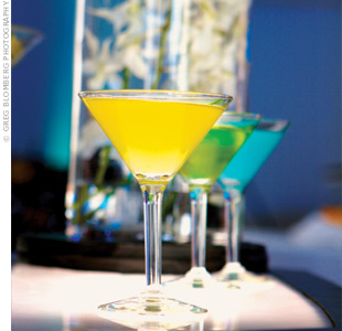 Not only do they taste good -- signature concoctions like the apple-tini and lemon drop can give your bash a burst of color and flavor.