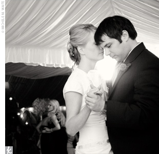 "Krista and Brian's first dance was to their favorite song, ""I'm on Nights"" by UK artist Richard Hawley."