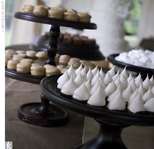 Krista and Brian treated their guests to a large dessert bar, which included indulgences like homemade marshmallows, truffles, and caramel cookies.