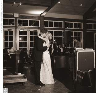 Kimberly and Christopher took their first dance as a married couple to Elton Johns &quot;Your Song,&quot; a song they had referenced in their invitations.