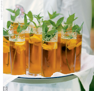 Spearmint Spiked Tea