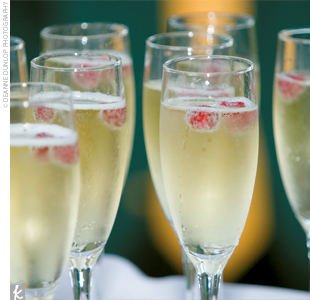 Cranberry Spice Champagne