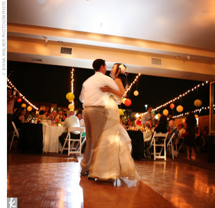 "Hai and Jon shared their first dance to ""In Your Eyes"" by Peter Gabriel.  A DJ then spun tunes for the newlyweds and their guests as they danced the night away."
