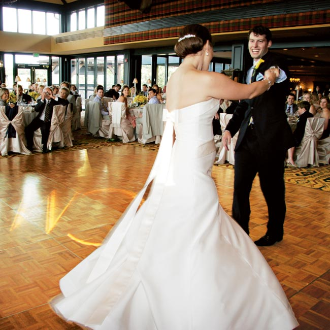 "Kate and Matt wanted a first dance that would set an upbeat tone for the rest of the celebration, so they chose ""Everlasting Love"" by Carl Carlton."