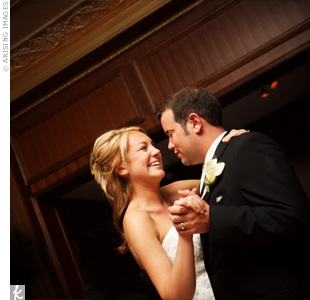 "The Simone Vitale Band performed ""By My Side"" by Ben Harper for the couple's first dance."