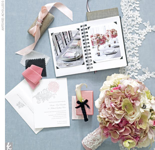 Blush + Ebony + Pewter