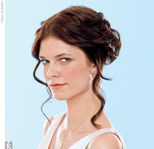Trend 4: Tousled Updo