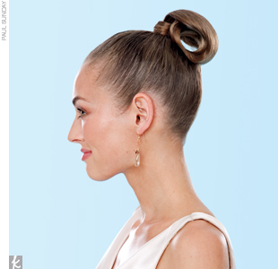 Trend 5: Sleek Buns