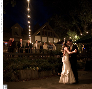 Heather and Brandon shared their first dance to Ray LaMontagne&#39;s &quot;Hold You in My Arms,&quot; in memory of their first official date when they saw LaMontagne in concert.