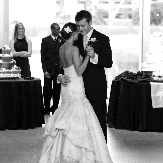 "Jill and Randy danced for the first time as husband and wife to a Jason Mraz remake of Etta James's ""At Last,"" giving their music the same modern edge as the rest of their wedding."