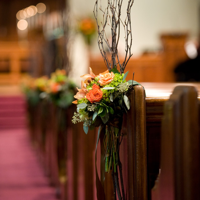 Fall Wedding Altar Arrangements: 1000+ Images About Pew On Pinterest