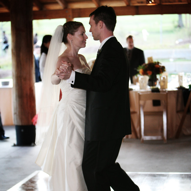 "Rebecca and Benjamin danced a choreographed waltz to ""Dream A Little Dream of Me,"" by The Mamas & The Papas."