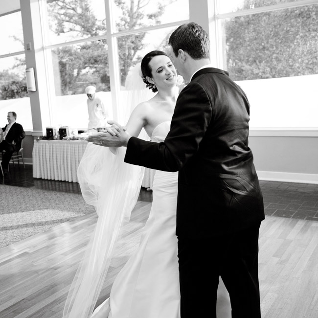 "For a fun first dance, the couple chose ""Better Together"" by Jack Johnson."