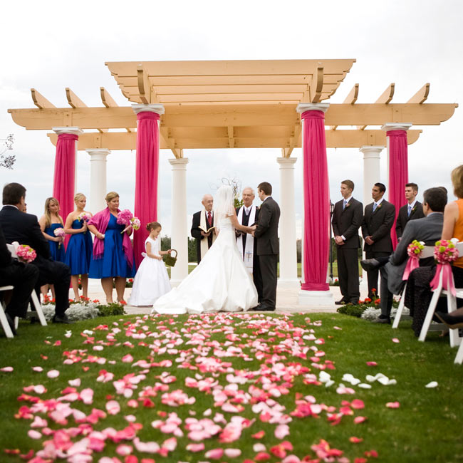 Outdoor Wedding Ceremony Orlando: The Ceremony