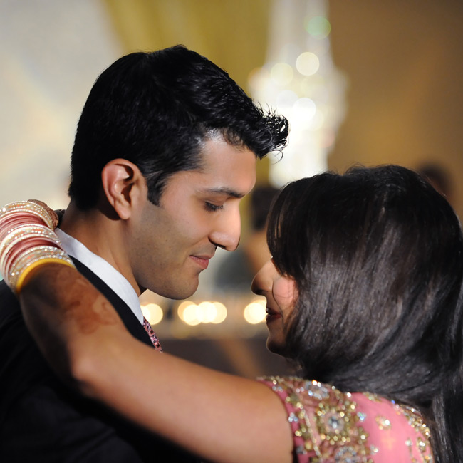 "Sonia and Vivek chose a Western song, ""Answer,"" by the bride's favorite artist, Sarah McLachlan, for their first dance."