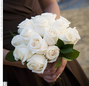 White Rose Bridesmaid Bouquet Where To Buy
