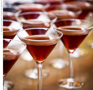 "Franklin's signature drink, ""The Franktini,"" was actually a pomegranate martini."