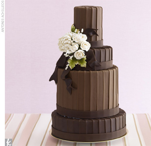 Wedding Cake Trend #2: Haute Chocolate Cakes