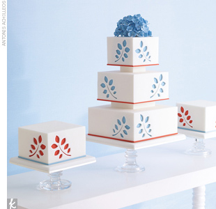 Wedding Cake Trend #5: Cake Trios