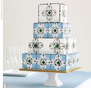 Wedding Cake Trend #6: Global Patterns