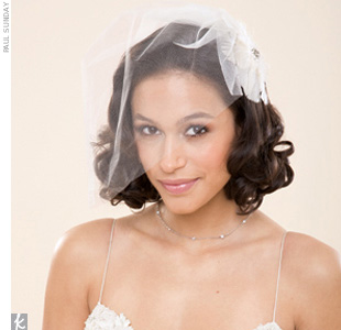 Wedding Veil Styles You'll Love: The Cage Veil