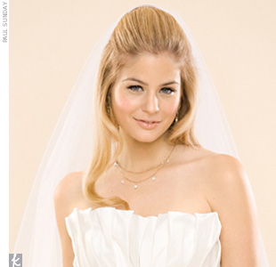 Wedding Veil Styles You'll Love: The Fingertip Veil