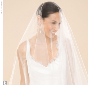 Wedding Veil Styles You'll Love: The Mantilla Veil