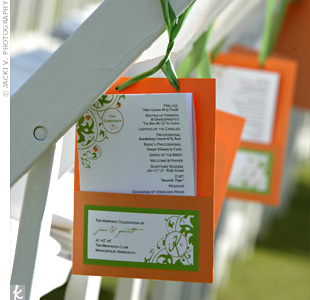 The Ceremony Programs