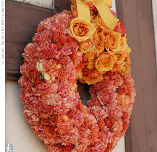 Carnation Ceremony Wreaths