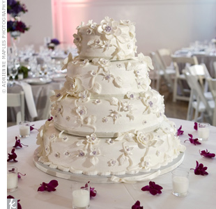 Sugar Flower Wedding Cake