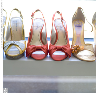Colorful Bridal Shoes