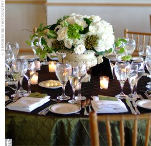 Formal Reception Centerpieces