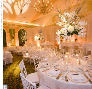 Drapery Reception Decor