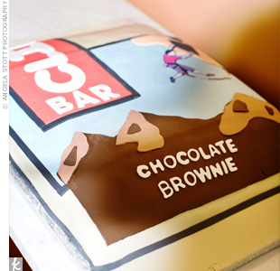 Clif Bar Groom's Cake