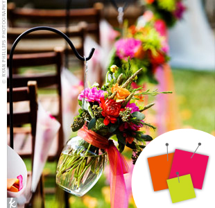 Pink + Orange + Lime Green