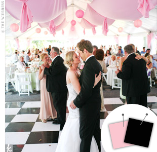 Light Pink + Black