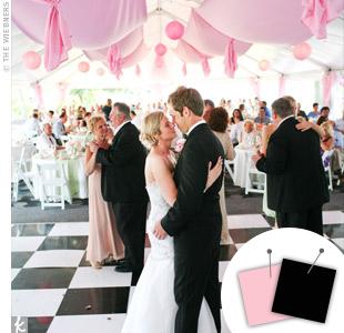 Light Pink + Black > See more pink wedding details > See more black wedding details > See more pink and black wedding details
