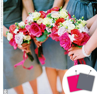 Berry Pink + Gray