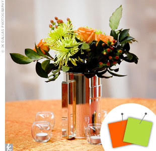 Lime Green + Orange