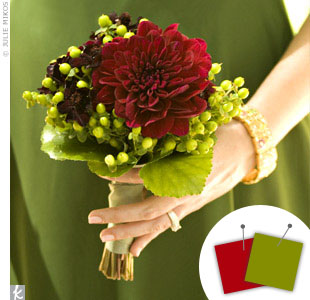 Green + Red > See more green wedding details > See more red wedding details > See more green and red wedding details