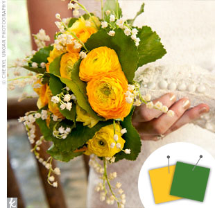Dark Green + Yellow