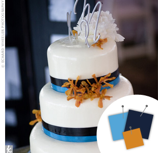Blue + Navy + Gold