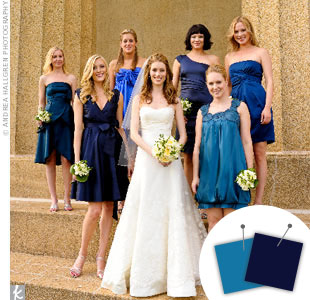 Light Blue + Navy