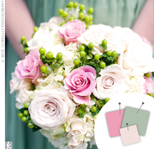 Mint Blue + Pink + Cream