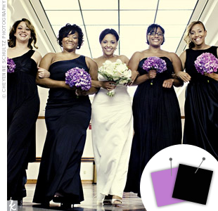 Lavender + Black