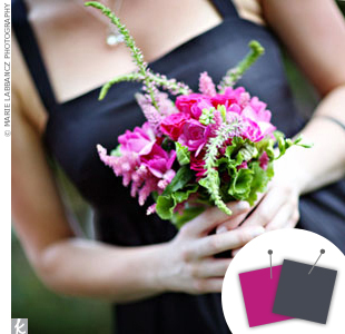 Purple + Charcoal
