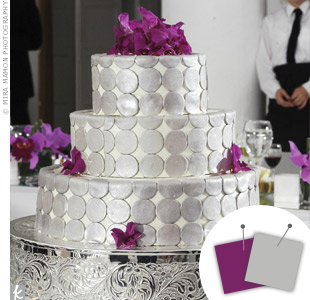 Wedding Color Combo: Purple + Silver